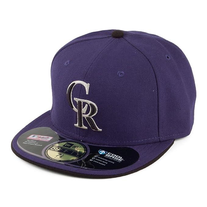 Gorra de béisbol 59FIFTY On Field Colorado Rockies de New Era - Alt 2-7 1 4   Amazon.es  Ropa y accesorios 7c846cb74b9