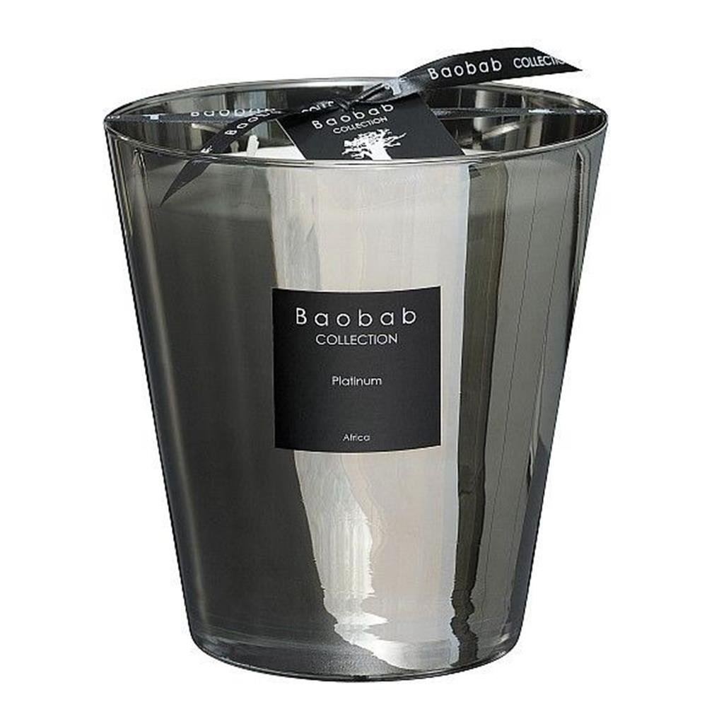 Baobab MAX16PLA Platinum Candle, 16x 10x 16 cm Wax Candle