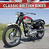 Vintage Motorcycle Calendar - Classic Motorcycle Calendar - Calendars 2018 - 2019 Wall Calendars - Motorcycle Calendar - Classic British Motorbikes 16 Month Wall Calendar by Avonside