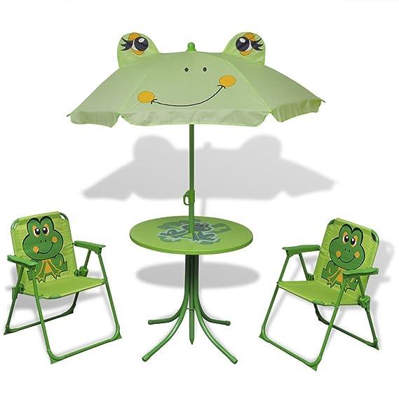 Kinder Hollywoodschaukel - vidaXL Sitzgruppe Frosch