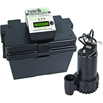 Superior Pump 92910 Powered Battery Back Up Sump Pump With