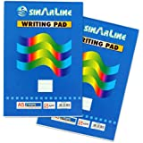 Writing Pad 3 Pc in Set Tear-off Scratch Pad A5 80 Sheets
