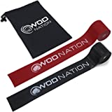 WOD Nation Muscle Floss Bands Recovery Band for Tack and Flossing Sore Muscles and Increasing Mobility - Stretch Band Include