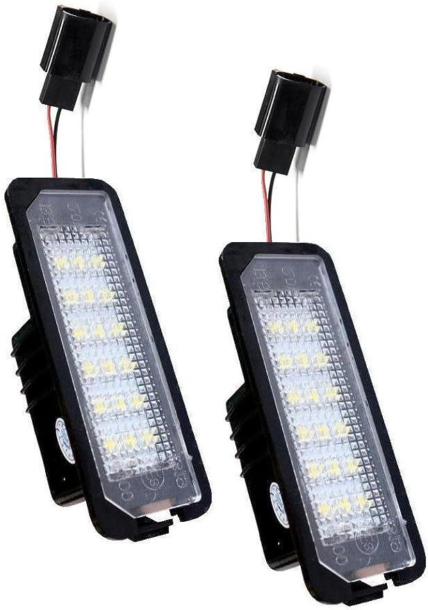 Baujahr 11//2001-08//2008 phil trade Kennzeichenbeleuchtung LED SMD kompatibel f/ür Ford Fiesta 5