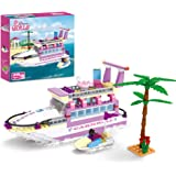 BRICK STORY Dream Girls Friends Cruise Ship Building Toys Creative Yacht Building Sets 318 Pieces Girls Boat Building Kit Gif