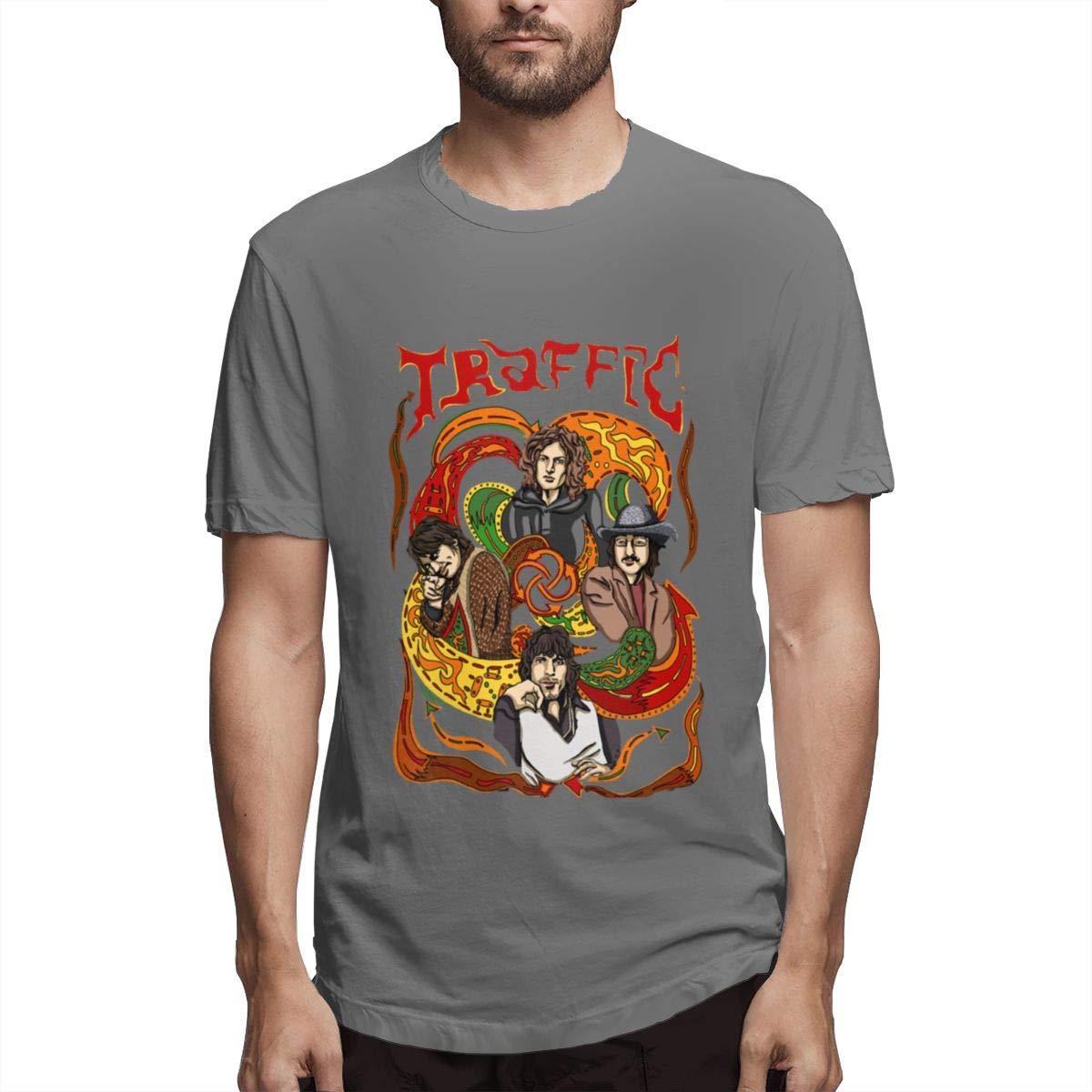 Seuriamin Traffic Band S Ultra Soft Walk Short Sleeve T Shirt