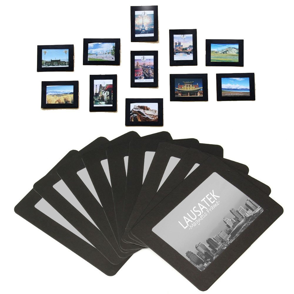 Magnetic Photo Picture Frames and Refrigerator Magnets Pocket Frame ...