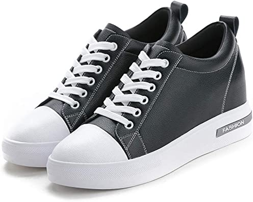 MEWOW Women's High Top Lace Up Sneakers