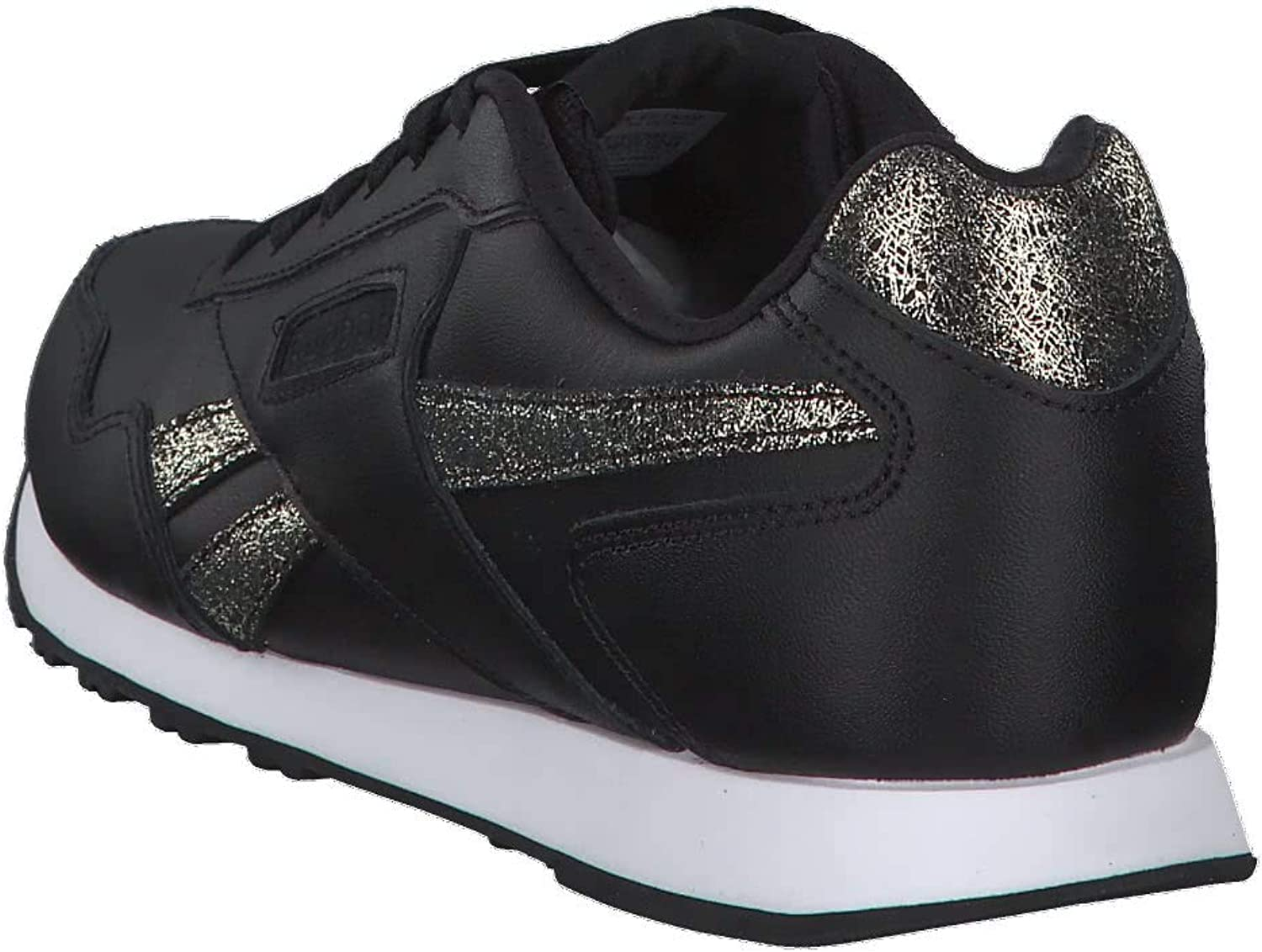 Reebok Royal Glide LX, Chaussures de Trail Homme Multicolore Black Gold Met White 000
