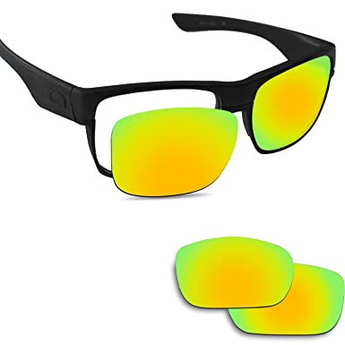 18142462c4 Image Unavailable. Image not available for. Color  Fiskr Anti-saltwater  Replacement Lenses for Oakley Twoface Sunglasses ...