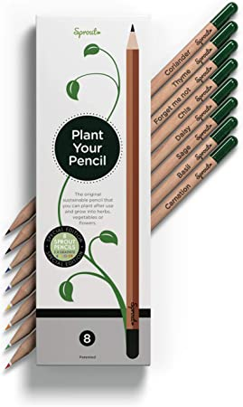 Sprout Plantable Pencils with Seeds