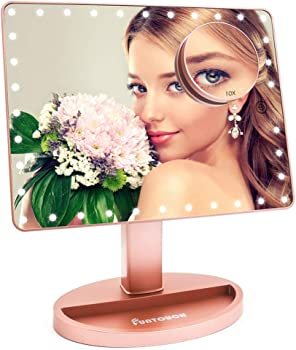 Funtouch X-Large Light Up Mirror with 35 LED Lights