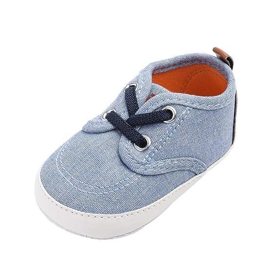 Mosstars Zapatos Primeros Pasos Bebe con Suela Zapatillas Bebe ...