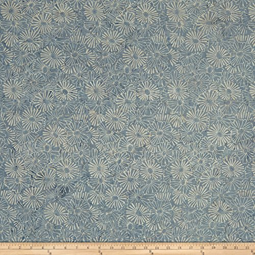 Marcus Brothers 0558942 Sarah J Sea Batiks Gray Fabric by The Yard ()
