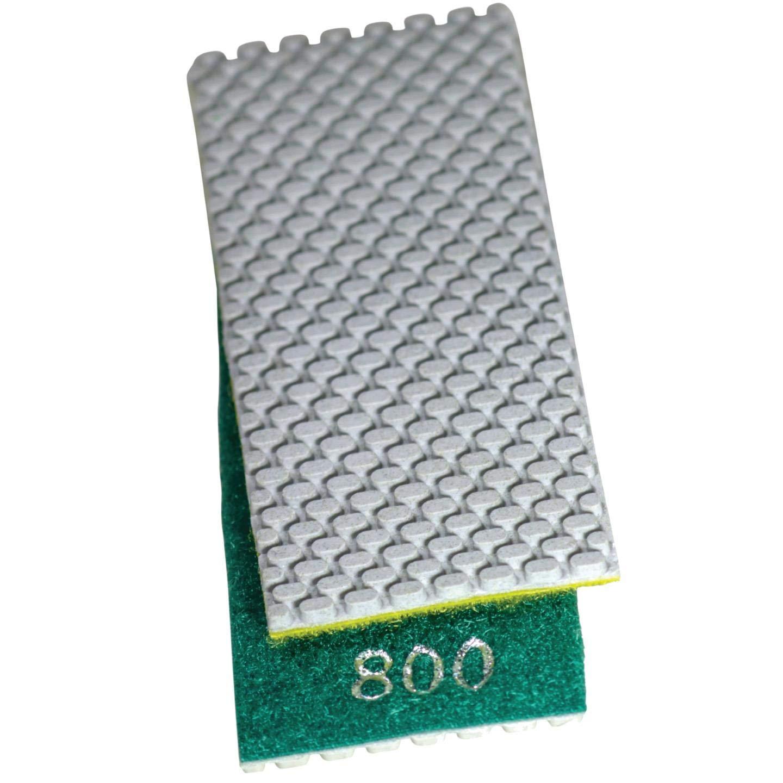 Stadea HPW110H Diamond Hand Polishing Pads Flexible for Concrete Glass Marble Stone Polishing, 7 Pads 1 Backing Pad Set by STADEA (Image #6)