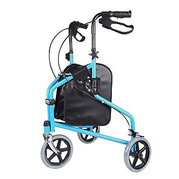 HSRG Andador de 3 Ruedas para Ancianos,Plegable,Incluye ...