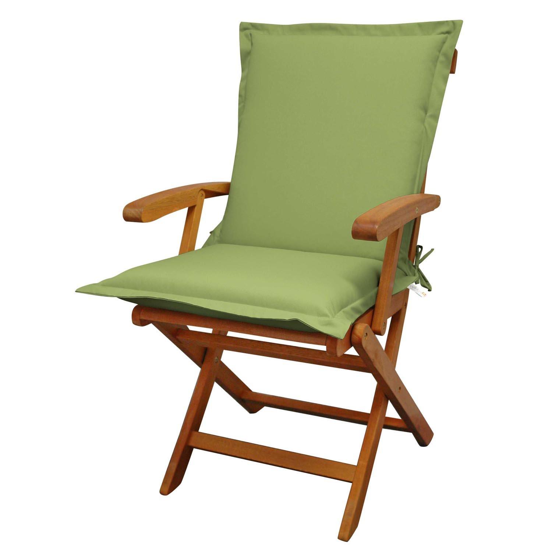 Indoba Sitzauflage Niederlehner Premium Polsterauflagen Grün