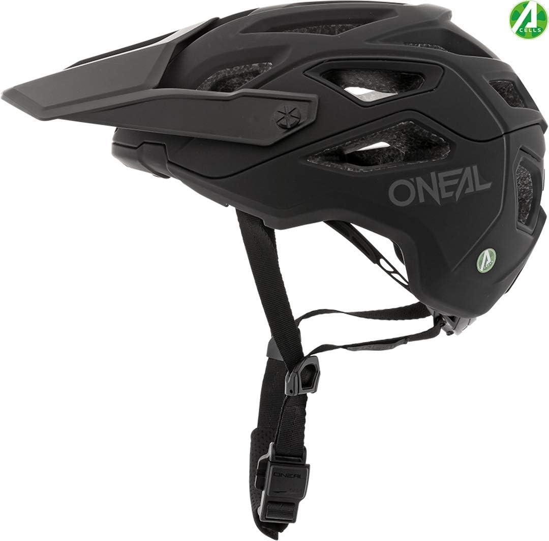 ONeal Fahrradhelm Pike IPX Schwarz Grau S//M 0009-S