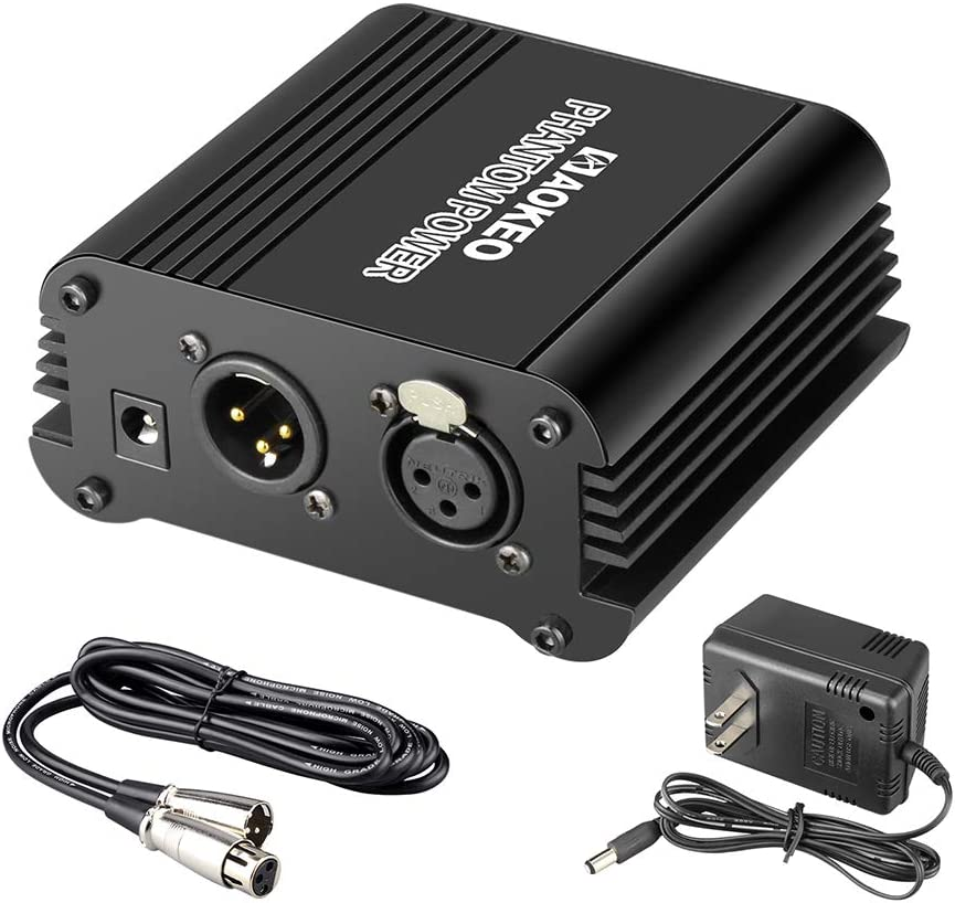 1 Channel 48v Power Supply for Condenser Microphone
