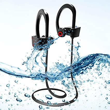 39385c7828e Image Unavailable. Image not available for. Colour: Acid Eye 4.1 Waterproof  Wireless Bluetooth Earphones with Mic. Excite Deep Bass Bluetooth Headphone  (