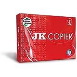 JK White Easy Copier Paper - A4, 75 GSM, 5000 Sheets, 10 Reams