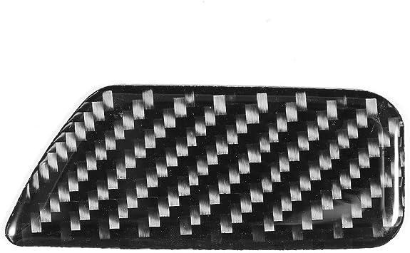 Yctze Carbon Fiber Box Switch Trim Auto Box Schalter Trim Carbon Aufbewahrungsbox Schalter Panel Dekoration Verkleidungsdekoration Abdeckung Trim Fit Für A3 8v 2014 2019 Auto