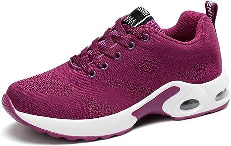 MSYDX Zapatos para Correr para Mujer Zapatillas Bajas con ...