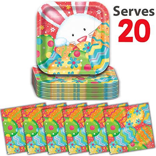 20-Sets - Easter Plates (7