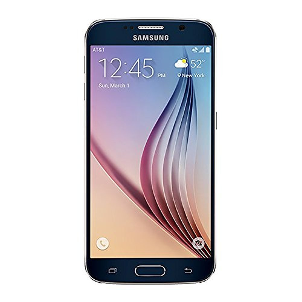 Samsung Galaxy S6 G920A 32GB Unlocked GSM 4G LTE Octa-Core Android Smartphone with 16MP Camera - Black Sapphire