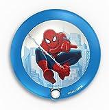Philips e Marvel Spiderman Luce notturna con sensore di movimento, LED