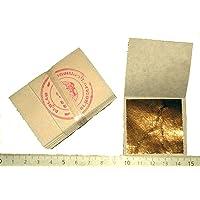 Lote de 50 hojas de oro, 45 X