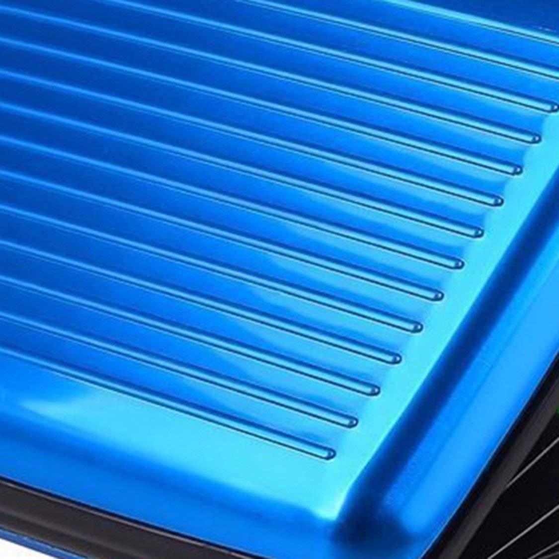 Bleu Alliage daluminium /étanche Hommes Femmes Titulaire de Cartes de Visite Carte de cr/édit Porte-Cartes didentit/é Unisexe Porte-Monnaie Bourse