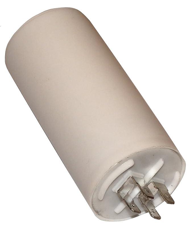 Condensatore permanente di lavoro per motore 30/µf 450V con terminali 6,3mm C10520 Aerzetix