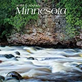 Minnesota, Wild & Scenic 2019 7 x 7 Inch Monthly Mini Wall Calendar, USA United States of America Midwest State Nature (Multilingual Edition)