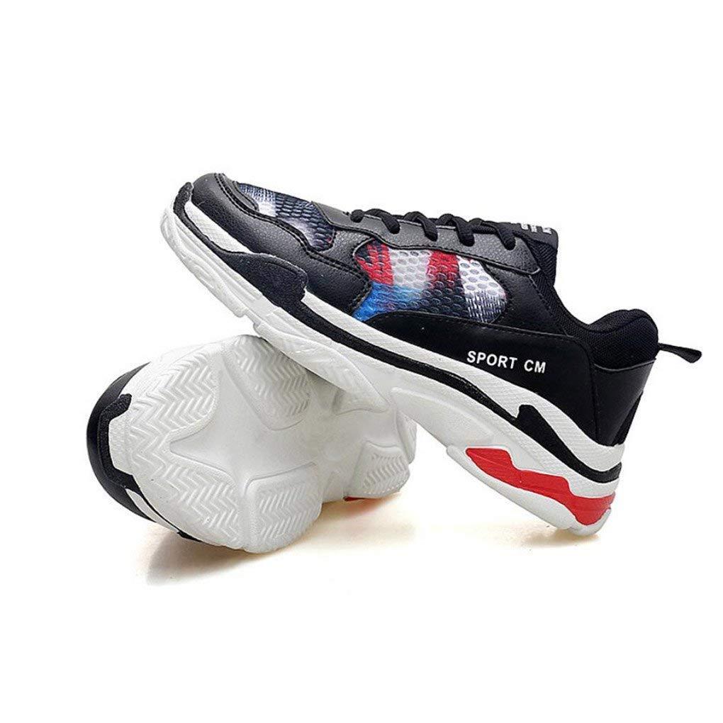 Turnschuhe im Freien, Sport Version und Freizeit-Studenten-Schuhe der Männer, Starke Untere Paar-Schuhe, Koreanische Version Sport der Art- und Weiseschuhe, wandernd (Farbe : EIN, Größe : 40) 86a92a