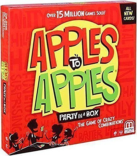 Apples PARTY BOX CARDS Mattel
