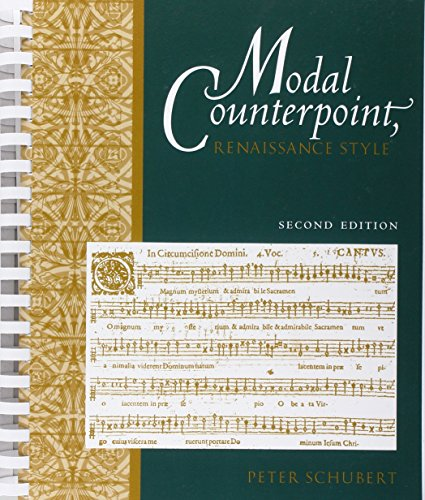 Modal Counterpoint: Renaissance Style by Oxford University Press