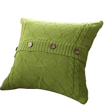 Serliy Strickknopf Flauschige Kissenbezüge Spannbettlaken Hause Sofakissenbezug Günstige Schöne Kissen Moderne Kissenhüllen Plüsch Hohe Qualität
