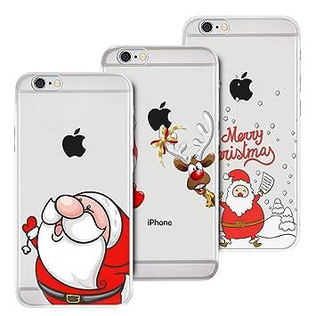 Anfire-ES 3X Funda iPhone 6 / iPhone 6S, Transparente ...