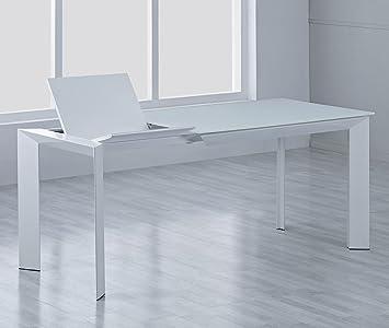 Designer Esstisch Sever Ik Ausziehbar 140 200x90cm Glastisch