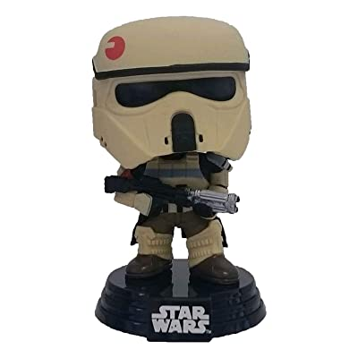 "Funko POP! 10461 ""Star Wars Rogue One Scarif Stormtrooper Stripes Bobble Toy: Toys & Games"
