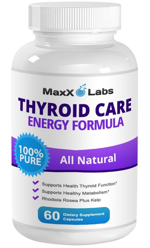 Best Thyroid Supplements - New Potent Formula Improves Thyroid Health with Fast Acting Herbal Ingredients That Boost Energy & Increase Metabolism - Thyroid Support Aids in Weight Loss - 30 Day Supply