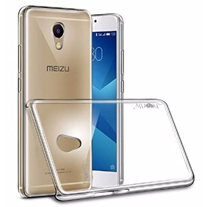 Heartly Transparent Clear Crystal Hot Thin Hard Back Case Cover for Meizu  M5 Note - Crystal View