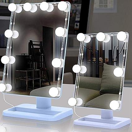 Regulable Luz De Ba/ño Luz De Espejo LED Ba/ño Con Interruptor IP44 Impermeable L/ámpara De Ba/ño 3 Colores 800LM 2800-6500K Luz De Armario Para Ba/ños Iluminaci/ón De Pared,Cyan 41cm