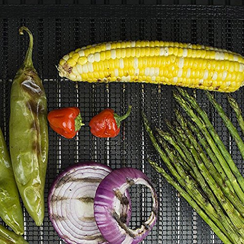 LtrottedJ 1pcs BBQ Grill Mat ,Mat Nonstick Pad Fiberglass Grill Pad Grill Foil Tool (C)