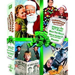Christmas Favorites Collection (Miracle on 34th Street / Deck the Halls / Home Alone 2: Lost in New York / Prancer) (2008)