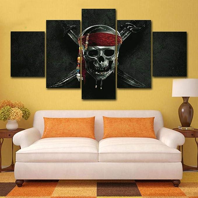 Acheter tableau peinture tete de mort online 13