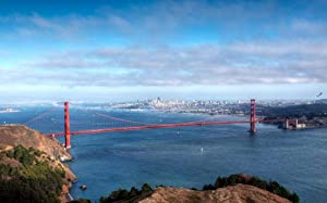 SJYYR Looking at The San Francisco Red Bridge from A Distance for Adults Hobby Home Decoration DIY 500 Piece Puzzles Exercise The Brain Family Education