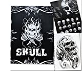 Tattoo Book - Yuelong Group Skulls Skeleton Design Tattoo Art Book Flash Sketch Supplies