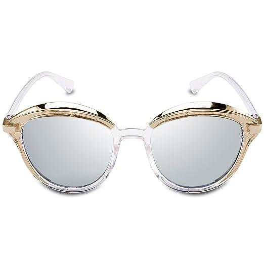 Amazon.com: Goliath Ronin Round Sunglasses Oversized Horn Rimmed ...